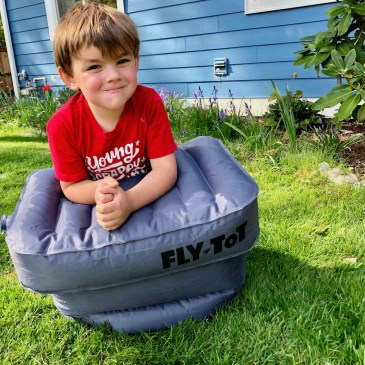 The Original Fly Tot Review: An Ingenious Sleep Solution for Kids on Planes