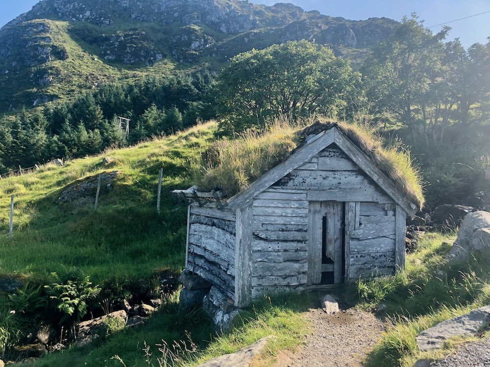 Sod Roof Cabin Norway