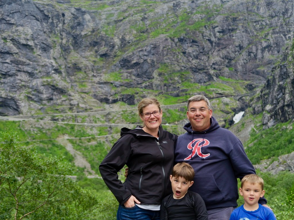 Family in Norway