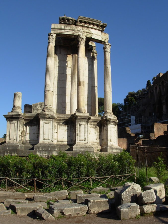 Roman Forum Temple of Vesta