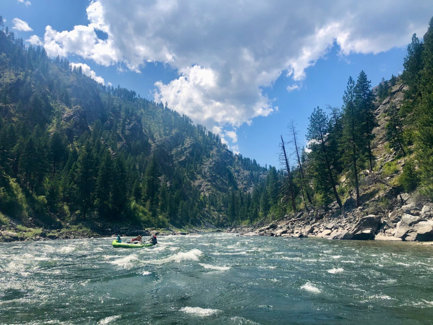 Main Fork of the Salmon River in Idaho