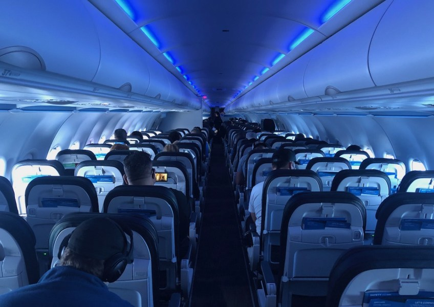 Pandemic Travel by Airplane