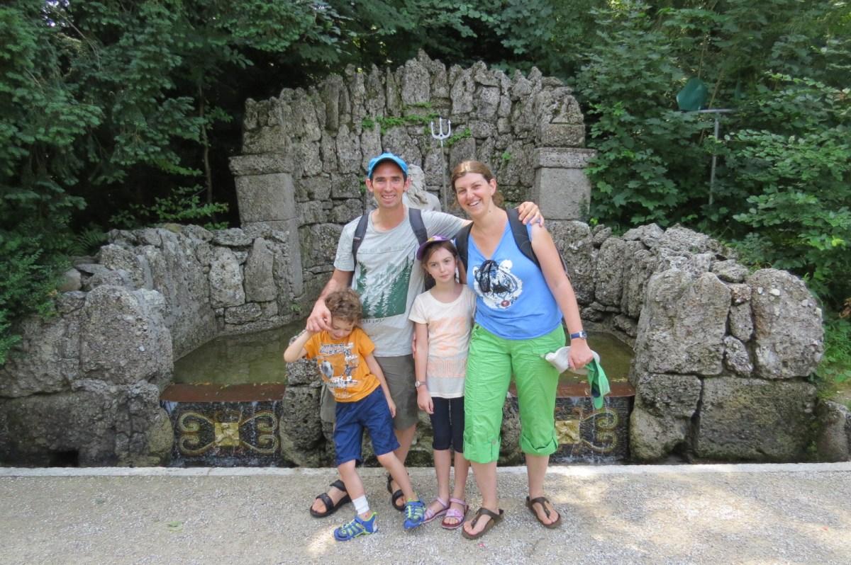 טיול משפחתי באוסטריה