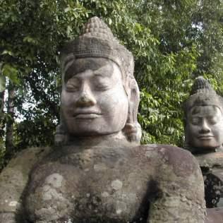 הכניסה למתחם מקדשי אנגקור