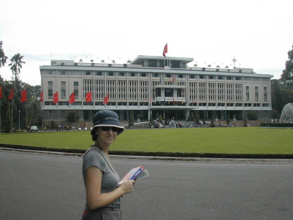 בארמון האיחוד מחדש בהו' צ'י מין סיטי