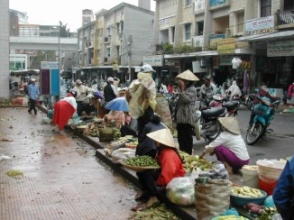 השוק בדאלאת, וייטנאם