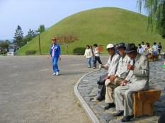 קברי המלכים בקיונג'ו, דרום קוריאה