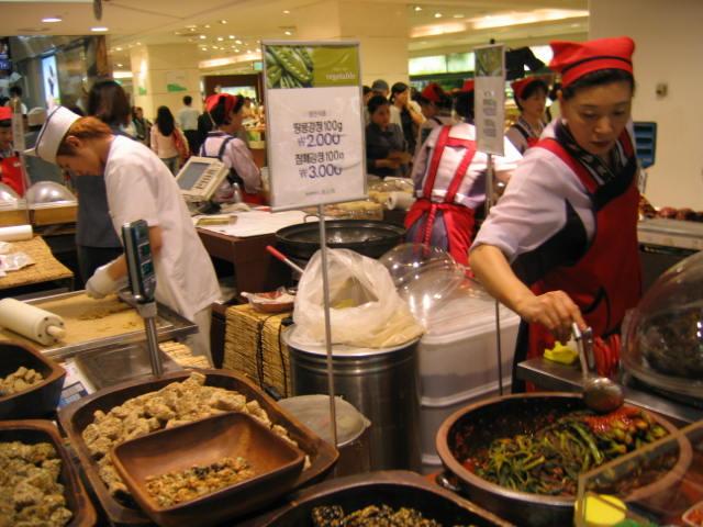 שוק אוכל בסיאול