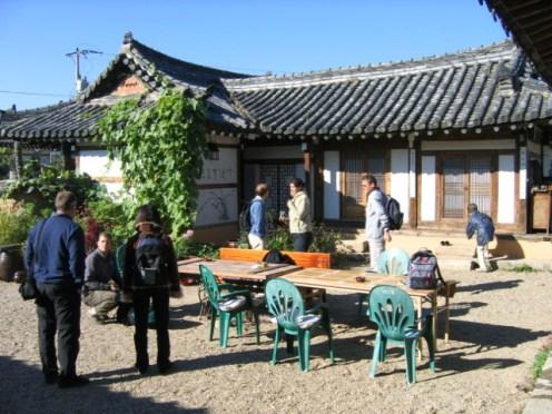 סרנג'אי - אכסניה מסורתית בקיונג'ו, דרום קוריאה