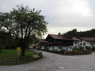 העיירה הופטגארטן במזרח הטירול