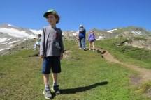 טיול רגלי למרגלות קרחון קיצשטיינהורן