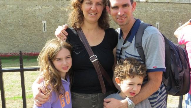 טיול משפחתי בלונדון