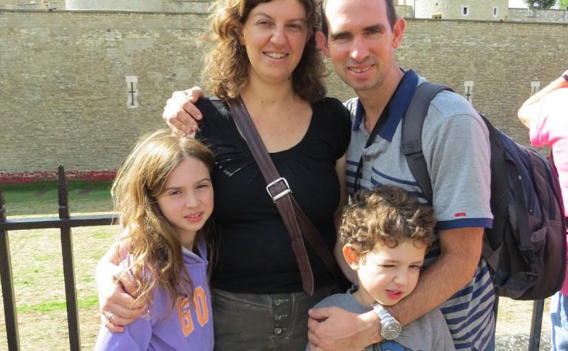 מסלול טיול משפחתי בלונדון