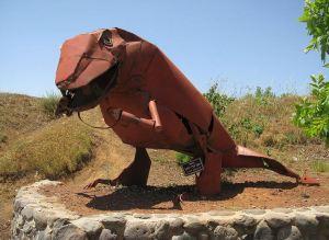 פסל של יופ דה יונג בהר בנטל