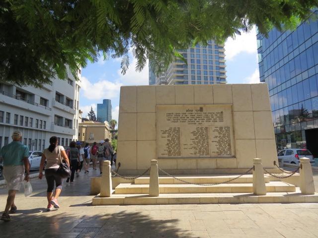 האנדרטה למייסדי תל אביב
