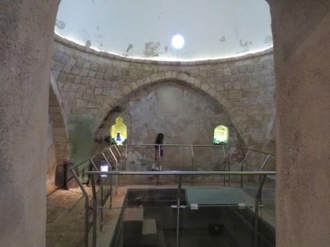 חמאם סולימאן בגן לאומי חמת טבריה