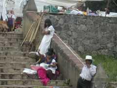 בני שבט הלנקנדון בסן קריסטובל