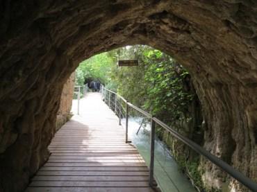 הגשר הרומי בשמורת נחל חרמון