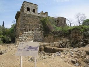 מבנה קדום בן כמה שכבות בשמורת נחל חרמון