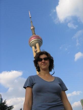 שנגחאי - מגדל פנינת המזרח