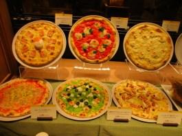 דגמי אוכל במסעדות בתחנת קיוטו