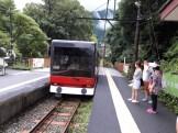 בדרך לתחנת סונזן בהאקונה