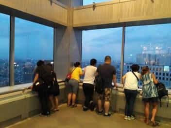 תצפית על טוקיו מבניין המטרופוליטן