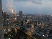 תצפית על תצפית על טוקיו מבניין המטרופוליטן