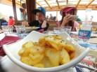 ארוחה טובה בבקתת RifugioFriedrich August