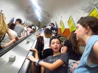 הרכבת התחתית ברומא