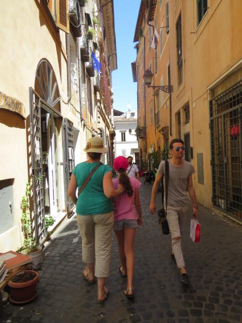 הגטו היהודי ברומא