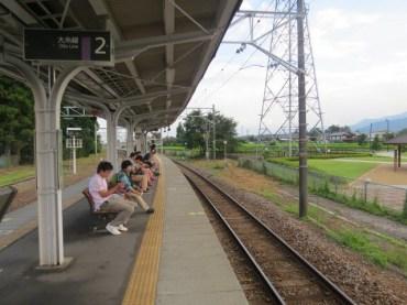 תחנת הרכבת בהוטקה ביפן