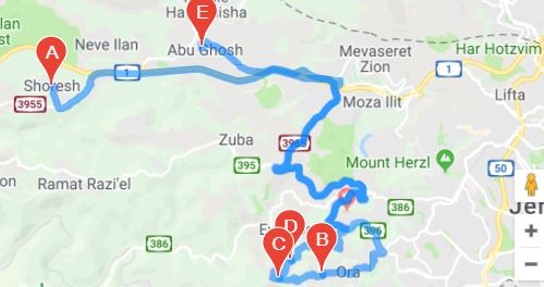 טיול בהרי ירושלים