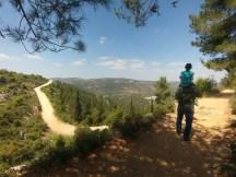 שביל המעיינות בהרי ירושלים