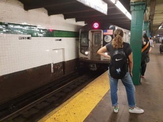 ברכבת התחתית בניו יורק