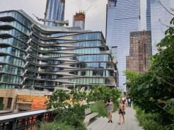 ארכיטקטורה מודרנית באזור ההיי ליין בניו יורק