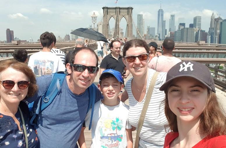 מסלול טיול משפחתי בניו יורק