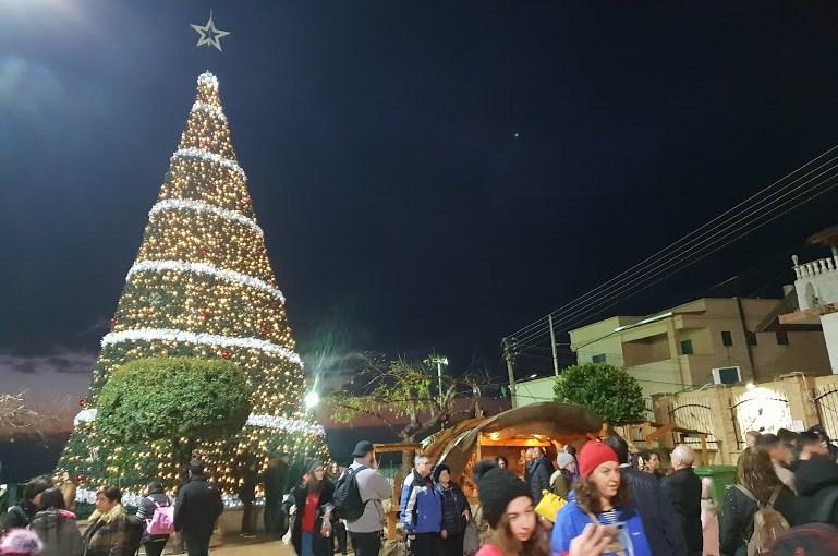 ערב חג המולד בכפר פסוטה ובסביבתו