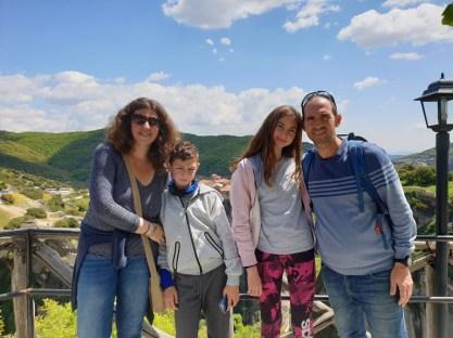 טיול משפחתי ביוון - מטאורה