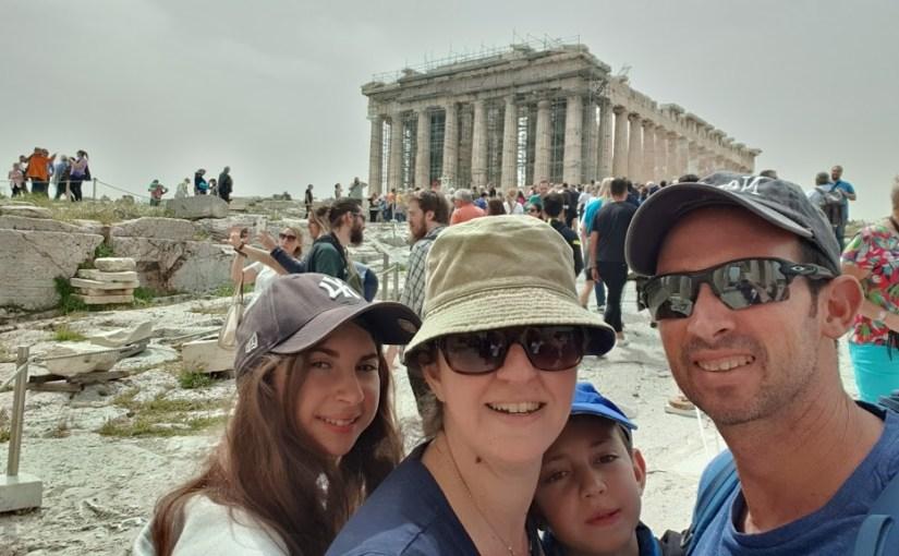 מסלול טיול משפחתי ביוון – מסלוניקי לאתונה