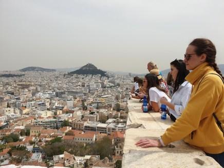 אטרקציות באתונה - תצפית מהאקרופוליס