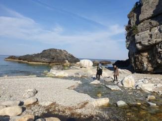 אטרקציות בפיליון - חוף מילופוטאמוס בחצי האי פיליון, יוון