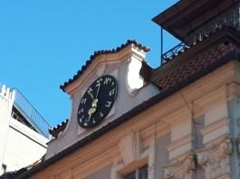 השעון העברי ההפוך בפראג