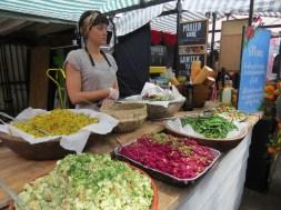 דוכני מזון בשוק קמדן
