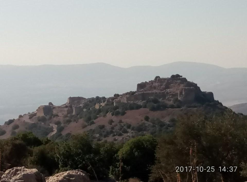מבצר נמרוד בצפון הגולן