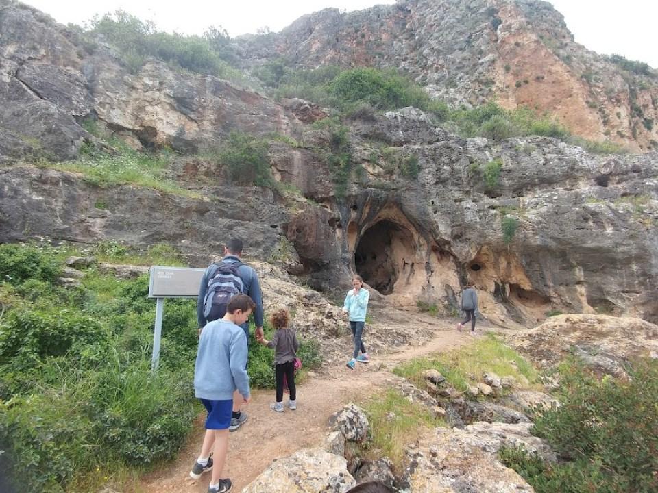 ביקור בשמורת נחל המערות