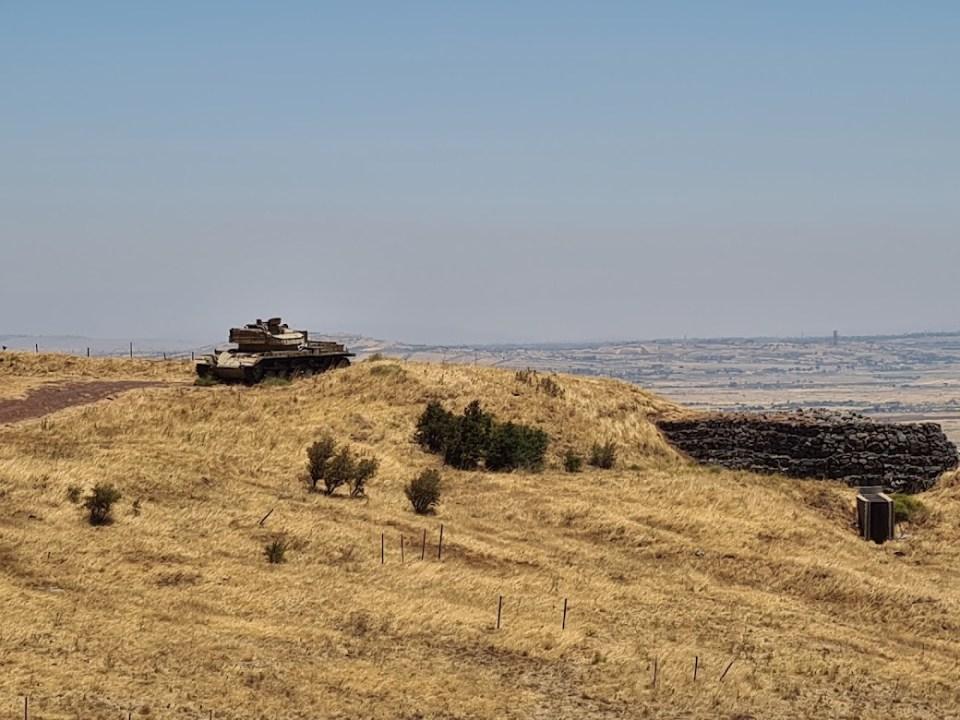 אתר ההנצחה עוז 77 בעמק הבכא