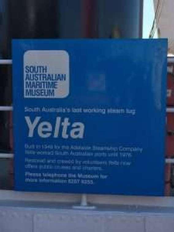 South Australian Maritime Museum Yelta Information