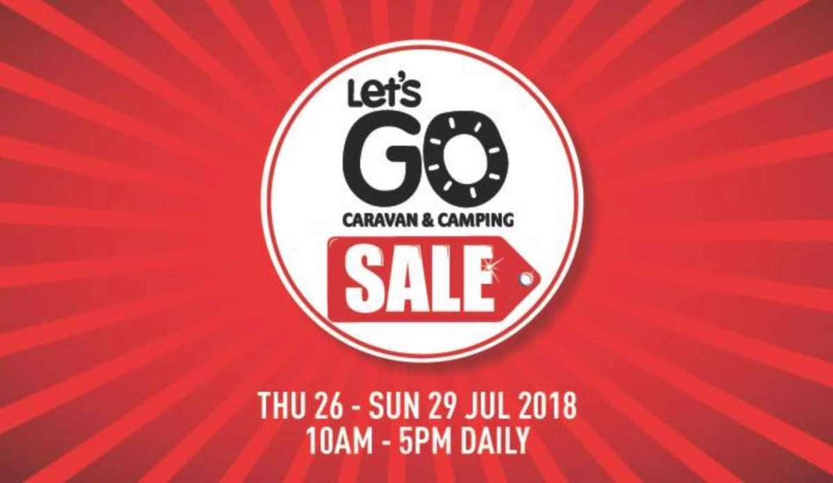 What's different about the Let's Go Caravan and Camping Sale 2018?