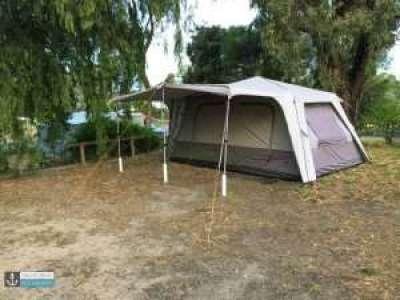 Black Wolf Tent at Naracoorte Big 4 Holiday Park